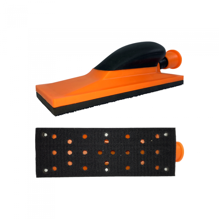 Rubber & Plastic - rucni blok za smirglanje 22 rupe - raspa - rucni alati - brusni papir - smirgla - Europaint doo