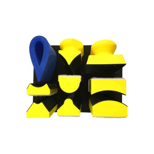 Set ručnih rašpi za brušenje - ručni alat - brusni papir - abrazivi - Europaint doo
